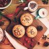 """ドライクランベリーとクリームチーズの甘酸っぱい美味しさ♪ パイフェイスから""""Happy Christmas Pie face""""テーマの新商品登場!"""