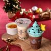 クリスマスツリーみたいな「チョコミントクリーム」&焦がしキャラメルが美味しい「クレームブリュレミルク」ムーミンスタンドで期間限定発売☆