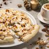 濃厚できらびやかな「キャラメルゴールド チョコレートチャンクピザ」を楽しむ!マックスブレナーにてクリスマス限定メニューが登場☆