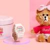 カモフラ柄リボンをつけたチョコドール付きの限定盤も♡ ホワイト×ピンクがキュートな特別モデル『BABY-G Limited Edition × LINE FRIENDS』1,000本限定発売!