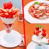 """大好評だった""""桃""""たっぷりデザートに次ぐデニーズ渾身の季節限定デザート!味・ビジュアル・食べ応えどれもサイコーな<苺デザート>"""