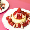 300%いちご増量にあまおうのパフェも♪ J.S. PANCAKE CAFEにていちご尽くしな春のフェア『Strawberry Feels Forever』開催!先行試食会やビュッフェも実施