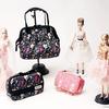 """""""Barbie""""のイラストを手触りの良いマットサテン地にデザイン!機能性も兼ね備えたコスメポーチ新登場!"""