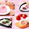 桜の花びら入り♪ クリアピンクのぷるきら水ゼリーにきゅん♡ ローソンから春うらら~な気分になれちゃう桜・苺・よもぎの和菓子が発売!