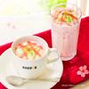 春を感じるピンクのドリンク&スイーツ♡ 『桜香る ホワイトショコラ・ラテ』『桜のパリパリチョコミルクレープ』など春限定メニュードトールから新登場