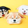 幸せそうな表情にキュン♪ フェリシモ「YOU+MORE![ユーモア]」より『うれしすぎてヒコーキ耳 がばっと開く柴犬ポーチ』発売中