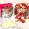色鮮やかなピンク×ホワイトの新フレーバー「ホワイトチョコラズベリー」入りのホワイトデー限定ギフト『Lots of Love缶』ギャレットポップコーンから期間・数量限定発売!