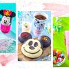 """顔型がキュートな「ミッキーパン」やデザートに魔法をかけるミッキー&ミニーのキラキラシュガーも♡ 「東京ディズニーリゾート®35周年 """"Happiest Celebration!""""」スペシャルメニューが続々登場!"""