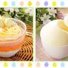 イースターエッグみたいなカラフルケーキにとろけるプリン♪ ローソン<ウチカフェスイーツ>からイースターデザート2品が発売中