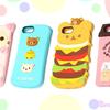 ねこやハンバーガーになったリラックマ、パンケーキに寄り添うすみっコたちが可愛すぎ~♡ ゆるかわリラックマ・すみっコぐらしのiPhoneケース8種類お目見え!