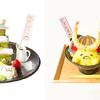 """抹茶のお城のパンケーキに、""""ぐでたま""""武将の天丼も♪『ポムポムプリン×ぐでたまコラボカフェ』名古屋にて開催!"""