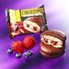 チョコパイ×パブロ華やかな第6弾♡ 『チョコパイ<PABLO監修プレミアムチーズケーキ ダブルベリー仕立て>』ロッテから新発売