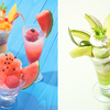 切りたてのすいかそっくりなかき氷で夏を満喫♪ コージーコーナーからすいかやマンゴー、メロンを使用した季節限定デザート新登場