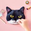 """話題の猫""""ギズモさん""""の「ω」部分をリアルに再現!フェリシモ猫部『魅惑のもっちりひげ袋 ギズモさんポーチ』が可愛すぎる!"""