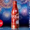 夏の夜空を彩る打ち上げ花火が迫力満点!『「コカ・コーラ」スリムボトル 2018年 花火デザイン』期間限定登場