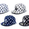星の総柄がポップな最新ヘッドウェア☆ New Era®(ニューエラ)からブラック、ホワイト、ネイビーのベースボールキャップが続々登場