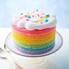 可愛すぎる『レインボーアイスケーキ』に、鮮やかな『青チョコ・赤チョコジェラート』も♡ フェリシモ「幸福(しあわせ)のチョコレート」にて限定スイーツ予約受付中
