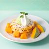 """まるでメロンパンみたいな""""サクふわ""""パンケーキも♡ J.S. PANCAKE CAFEにてメロン尽くしの期間限定フェア開催!"""