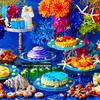 まるで海底の中にいるみたい♡ 人魚姫の泳ぐ色鮮やかな海をイメージした『プリンセスマーメイドと楽しむスイーツブッフェ』京王プラザホテルにて開催