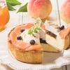 白桃&ブルーベリーにアールグレイが華やかに香る♡『パブロのチーズタルト-白桃とアールグレイのサマーティータイム-』期間・数量限定で発売!