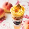 白桃&アールグレイが香る薔薇の花のように豪華なパフェ♪ パブロパフェ『白桃とアールグレイのサマーティ―タイム』一部店舗にて新発売
