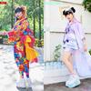 ユニコーンやアンジくん、目玉柄が日本の伝統服とMIX☆ ACDC RAG(エーシーディーシー ラグ)から原宿らしいカラフルなKawaiiデザインをあしらった「ユカタコレクション」第2弾登場!