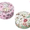 薔薇に囲まれた華やかなベル&自然の息吹いっぱいのバンビを描いた限定デザイン♪ 「スチームクリーム」からディズニー限定デザイン缶新発売