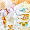 ガラスの靴や時計、ティアラモチーフのスイーツも♡ お城のような空間で楽しむ『プリンセス・シンデレラのアフタヌーンティー』期間限定で販売!