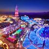 水上から楽しめる、日本最長級の噴水ショー「ウォーターマジック」も♪ 様々な光が織りなす幻想的なイルミネーション「光の王国」ハウステンボスにて開催!!