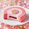 """ピンクの""""ルビーチョコ""""を贅沢に使用!ローソン限定「Uchi Café プレミアム ルビーチョコレートのロールケーキ」9/25(火)新発売♪"""