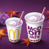 やさしい甘さとほっこりとした味わい♡ 期間限定『秋のマックシェイク 紫いも』全国のマクドナルドで発売