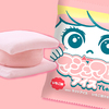 ふんわり・やわらかなマシュマロで、ピンク色のアイスをサンド♡ パッケージも可愛い『マシュマロアイスでしゅ。いちご味』期間限定で発売!!