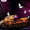中には紫芋クリームがたっぷり★ クロッカンシュー ザクザクから、真っ黒に仮装した『黒ザク』『黒ザクソフト』がハロウィン限定で登場!