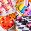 黒×ピンクのケーキに、カラフルウサギのスイーツも♡ 『アリスのハロウィンパーティービュッフェ』池袋「古城の国のアリス」にて開催!!