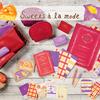 今度はアップルパイ&ベイクドスイートポテトが文具に♪ 秋冬らしいチェック・ボーダー柄の『Sweets a la mode(スイーツ アラモード)』第2弾発売!
