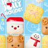"""今年はサンタやトナカイがキュートな""""スクエア型""""に♡ 『Holy Jolly Holiday』クリスピー・クリーム・ドーナツから登場!KKDJ初のミルクティー味も♪"""