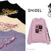 ピンク、紫、白などパステルカラーにあしらわれたロックなデザイン♪ 「SNIDEL(スナイデル)」と「QUEEN(クイーン)」のフューチャリングコレクションが新登場