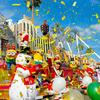 ミニオンたちがクリスマスコスチュームで大はしゃぎ♪ USJにて『イエロー・クリスマス』開幕!関ジャニ∞も大感動の『ホグワーツ™・マジカル・ナイト~ウィンター・マジック~』も開催