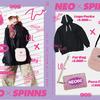 現役女子高生の人気クリエイターでモデル「ねお」×「SPINNS」コラボが決定☆ 3店舗限定で来店イベント開催も!
