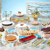 華やかドレスをイメージしたピンクのケーキも♡ 『スイーツブッフェ シンデレラのクリスマス舞踏会』期間限定で開催!!