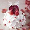 マリーアントワネットのバラとパールのドレスをイメージ♡ 『今田美奈子監修 ショートケーキ 5号~マリーアントワネットの花の夜会~』ナチュラルローソンにて予約受付中