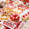 """コンセプトは""""いちごの国のプリンセス""""♡ いちごブッフェ『夢のいちごパーティー!~いちごの魔法にかけられて~』グランドプリンスホテル京都で開催♡"""