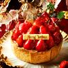 クリスマスはまるごといちごが山盛り!! 焼きたてチーズタルト専門店PABLOから、12月限定チーズタルトが新登場★