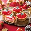 """贅沢""""ダブルいちご""""♡ 12月より、クリスマス気分が盛り上がる『PABLO mini(パブロミニ) たっぷりいちごパーティー』期間限定で新登場!"""