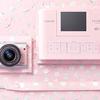 """コンパクトサイズのミラーレスカメラ「EOS M100」が限定ピンクボディーに!数量限定キヤノン""""リミテッドピンクフォトキット""""発売!"""