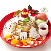 イチゴの雪だるまにもみの木、トナカイもお目見え♪ パンケーキ専門店「Butter」から『クリスマス パイミルフィーユ パンケーキ』登場!