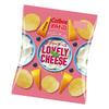 ピンクのパッケージが可愛い♡ 濃厚チーズ×ブルーベリーの味わい『ポテトチップス ラブリーチーズ』コンビニ限定で発売!