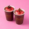 甘酸っぱいストロベリーマシュマロがホットチョコレートにとろける♡ リンツ ショコラ カフェからバレンタイン限定ドリンク発売!