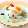 きゅっきゅ~なゴマちゃんが「ぐでたま」と初コラボ☆ 海に漂うシチューや流水ケーキなどキュートなコラボメニューが登場!