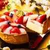 フレッシュないちごにモチモチ食感のぎゅうひ&あずきがたまらない美味しさ♡ PABLOからまるで「いちご大福」みたいなチーズタルト&パフェが発売!!